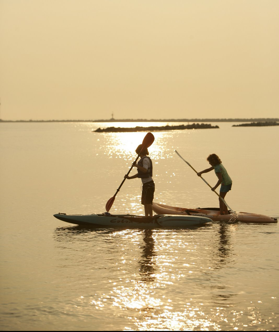 Paddling with your kids