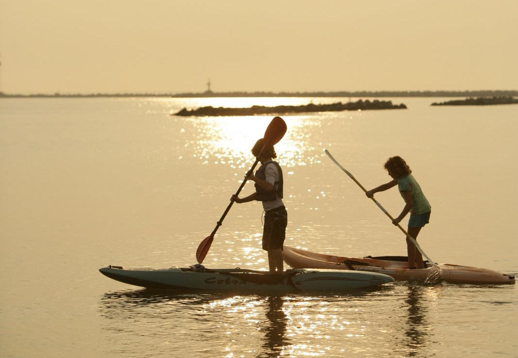 Paddling with yourkids